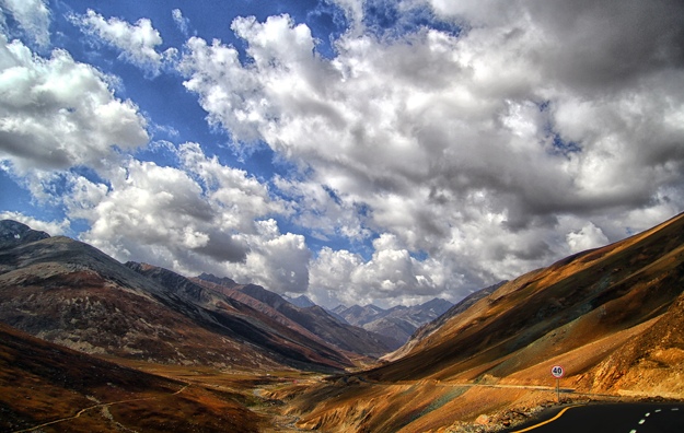 Top view of Babusar Pass. PHOTO: HASSAN SAJID