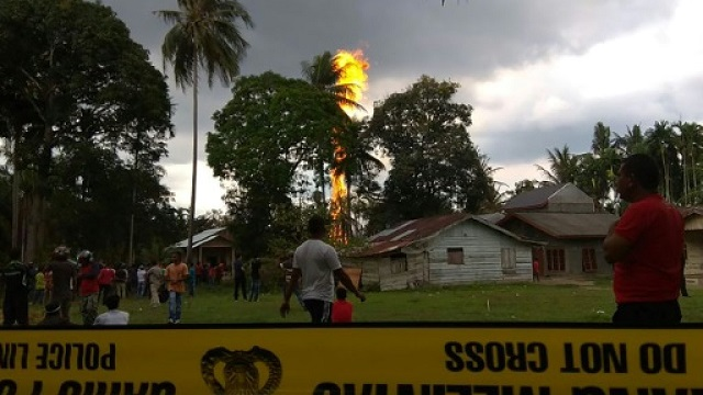 10 killed, scores injured as oil well catches fire in Aceh, Indonesia