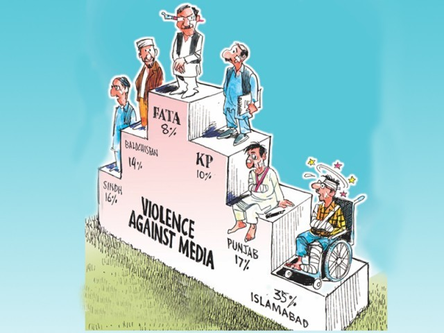 Islamabad Police, journalists clash at World Press Freedom Day rally