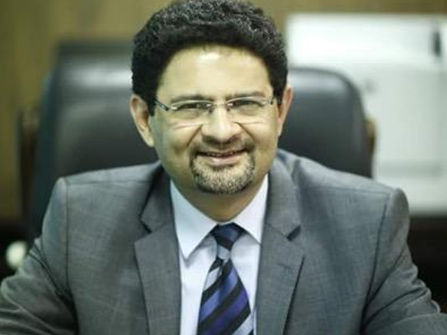 Federal Finance Minister Dr Miftah Ismail. PHOTO: TWITTER/MiftahIsmail