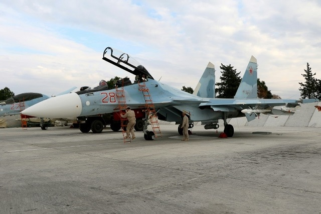 Pilots killed as Russian military jet crashes off Syrian coast