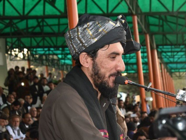 Manzoor Pashteen PHOTO: EXPRESS