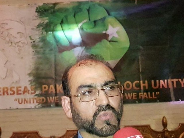 Dr Jumma Khan Marri. PHOTO: FILE
