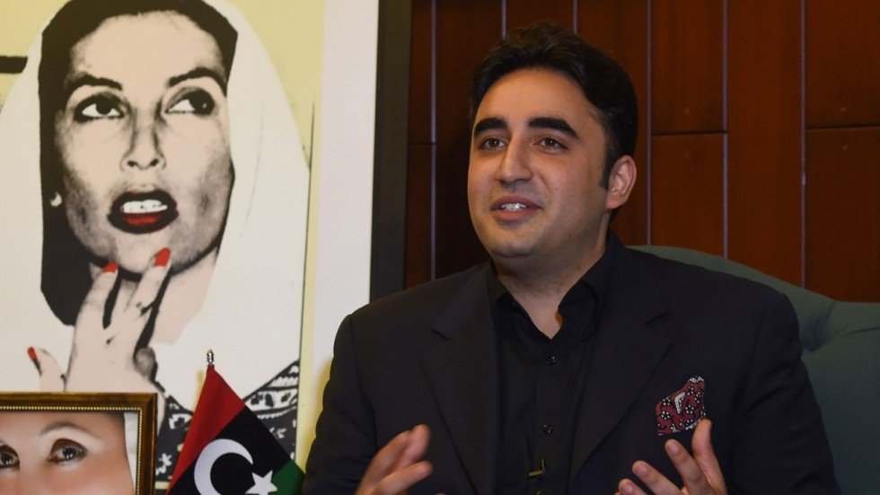 PPP chief Bilawal Bhutto-Zardari. PHOTO: AFP
