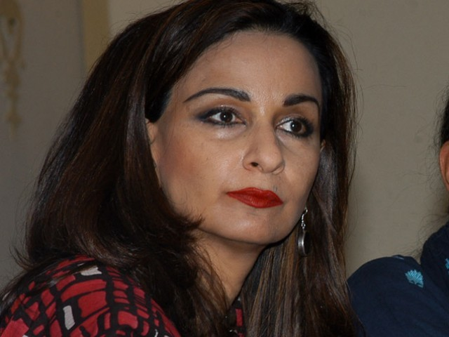 PPP leader Sherry Rehman. PHOTO: EXPRESS