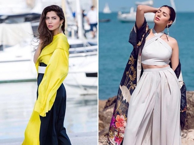 Mahira Khan has arrived at Cannes and it's a handsome  sight
