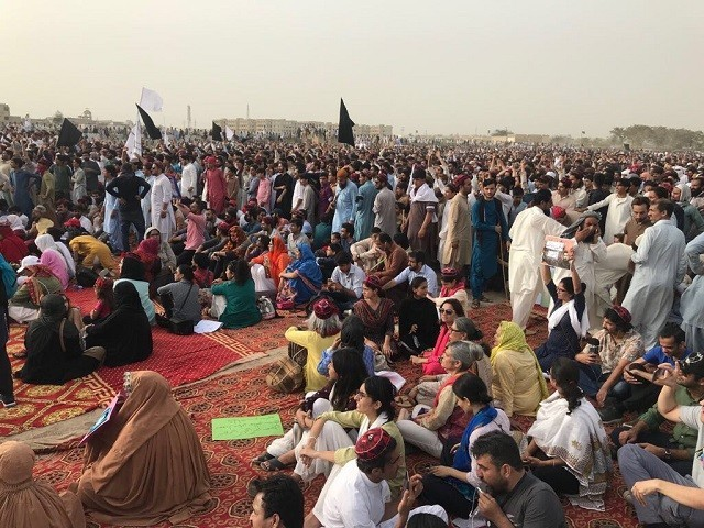 Manzoor Pashteen reaches Karachi to address thousands of PTM supporters
