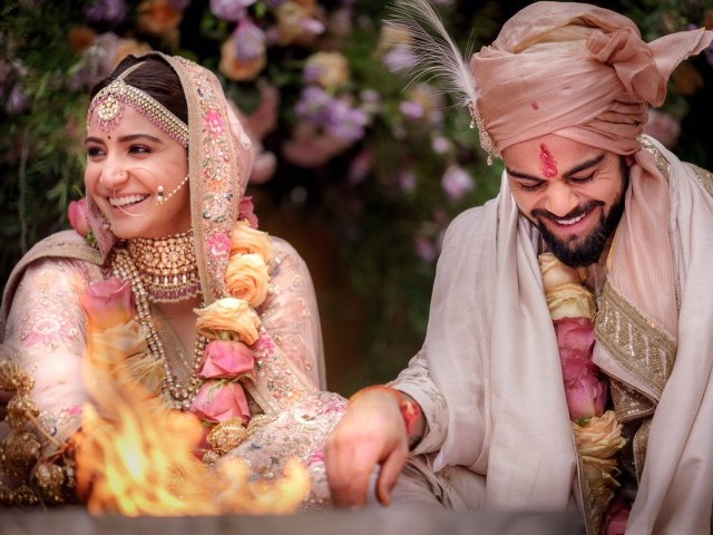 Anushka Sharma and Virat Kohli. PHOTO: @ANUSHKASHARMA