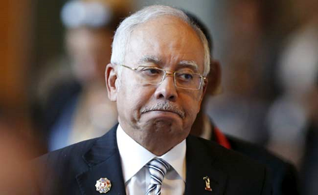 Police enter home of ousted Malaysian PM Najib