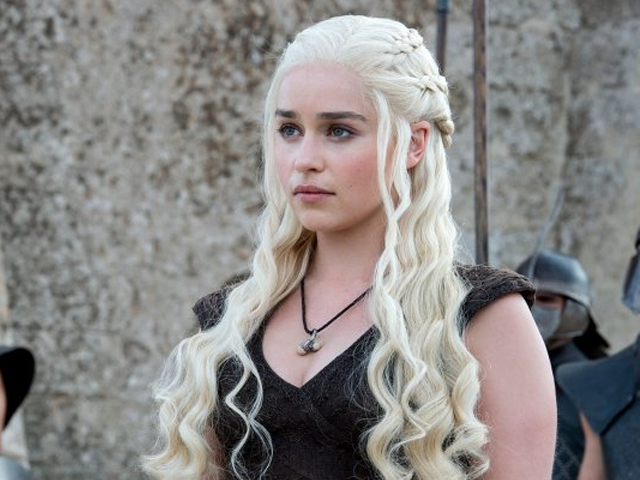 Emilia Clarke paid the same as male stars on 'Game of Thrones'