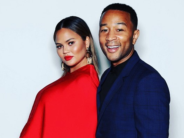 'Somebody's Herrrrrrre!' Chrissy Teigen and John Legend welcomes baby boy