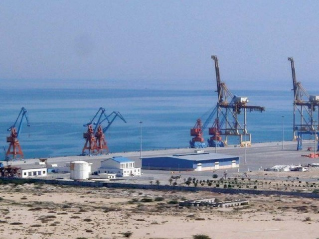 In April 2015, the ECC decided to extend the tax holiday for Gwadar Port and the Gwadar Port free zone from 20 years to 23 years on an understanding that the 23-year period will come into effect from 2007. PHOTO: FILE