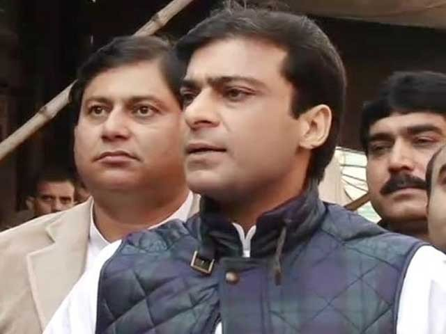 Hamza Shehbaz. PHOTO: EXPRESS/FILE