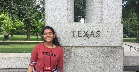Sabika Sheikh was studying in the US through an exchange programme funded by the State Department. PHOTO: TWITTER