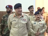 Army chief Gen Qamar vists Junior Leaders Academy (JLA) in Shinkiari . PHOTO: ISPR