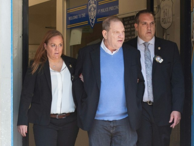 Harvey Weinstein charged with felony rape, criminal sex act in NYC court