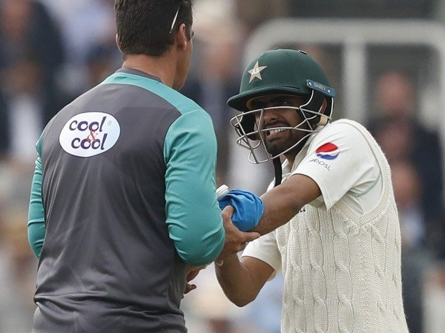 Pakistan needs just 64 to win 1st test v England