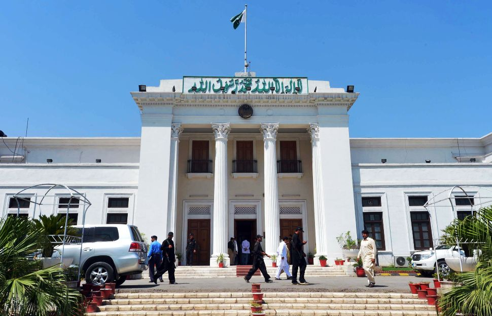 Khyber-Pakhtunkhwa Assembly. PHOTO: AFP