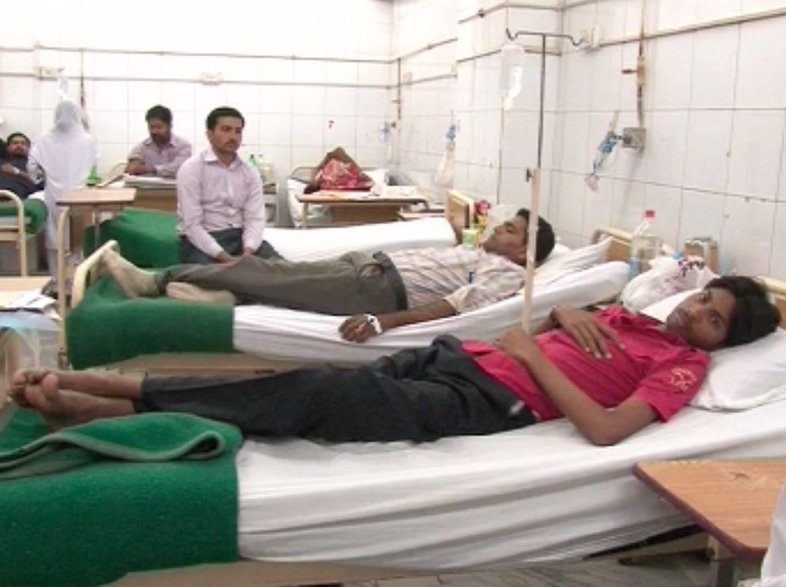 More than 50 patients have been admitted to various health facilities this summer PHOTO: EXPRESS
