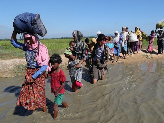 Returnees entered Myanmar in different stages over the last four months PHOTO: REUTERS