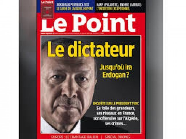 A screengrab of the cover of French Le point magazine PHOTO: TWITTER