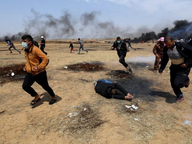 Two people reportedly killed by Israeli tank fire in Gaza