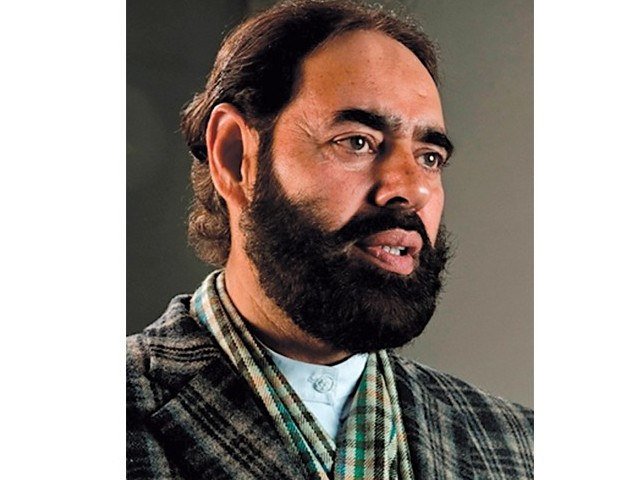 Jamaat-e-Islami's Zubair Farooq. PHOTO: File.