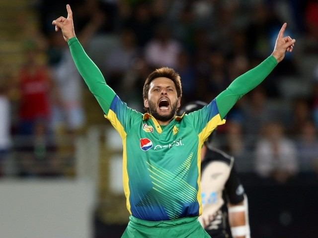 Shahid Afridi replaces injured Eoin Morgan as captain of World XI