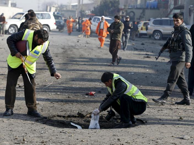 Afghanistan Interior Ministry attack in Kabul as ISIS and Taliban continue assault