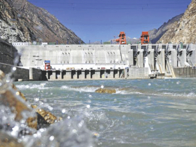 Last week, the government approved the Neelum-Jhelum project at a final cost of Rs506.8 billion  PHOTO: AFP