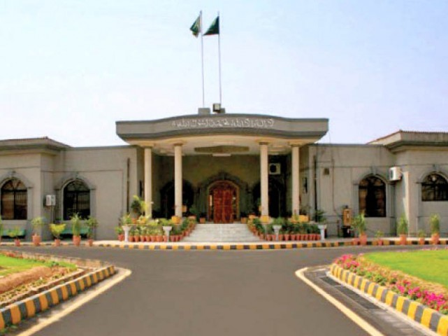 The Islamabad High Court. PHOTO: EXPRESS