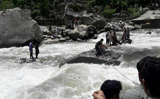 Five tourists killed in Neelum Valley bridge collapse
