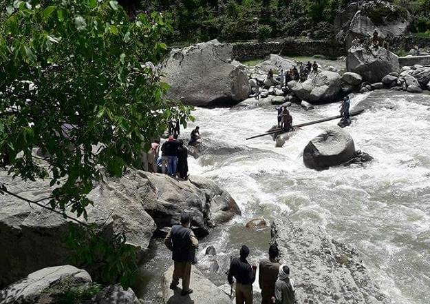 Rescue Operations Underway After Bridge Collapse in Neelum Valley