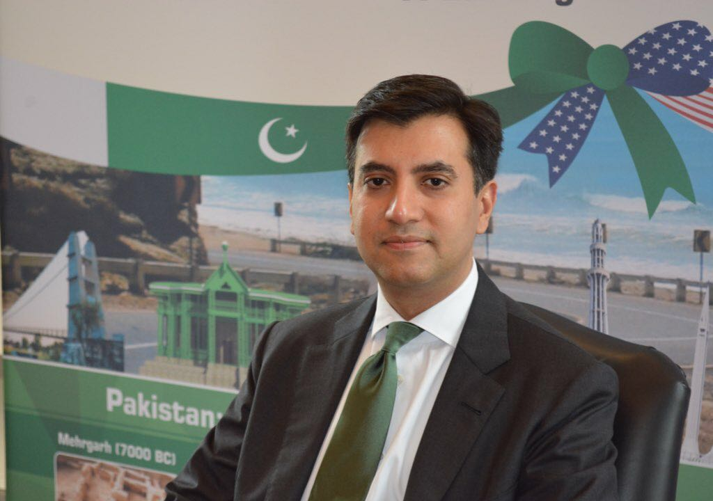 Pakistan's Ambassador to the US Ali Jahangir Siddiqui. PHOTO: GOVT OF PAKISTAN