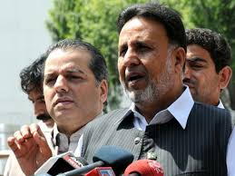 Punjab Opposition Leader Mian Mehmood-ur-Rasheed. PHOTO: INP