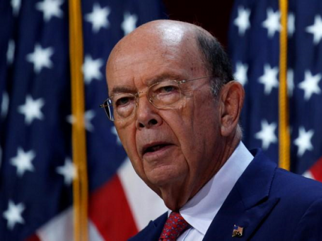 US Commerce Secretary, Wilbur Ross  PHOTO: REUTERS