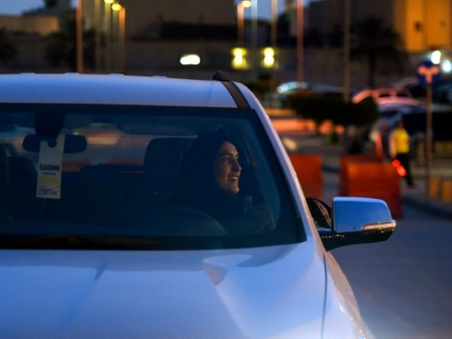 Saudis issue first driving license to women