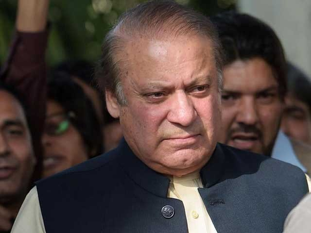 Ousted premier Nawaz Sharif PHOTO: FILE