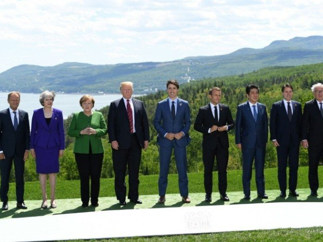 Trump withdraws endorsement of the G7 communique