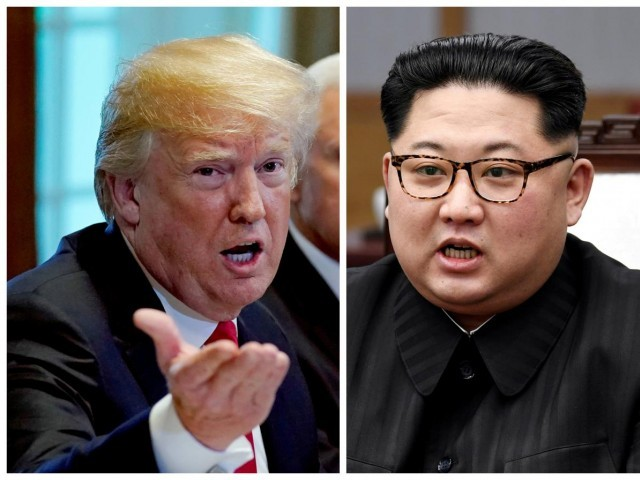 Ditching entourages, Trump and Kim Jong Un to meet 1 on 1