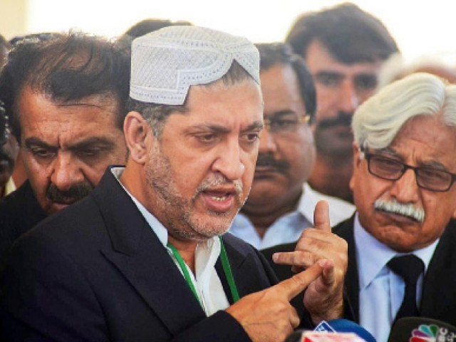Balochistan National Party-Mengal chief Akhtar Mengal. PHOTO: EXPRESS