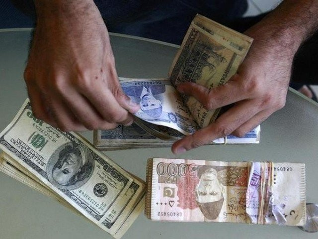 the Pakistani currency weakened further by 3.65% in its third round of rupee depreciation on Monday  PHOTO: EXPRESS