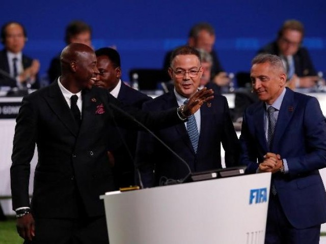 United North American bid awarded 2026 FIFA World Cup over Morocco
