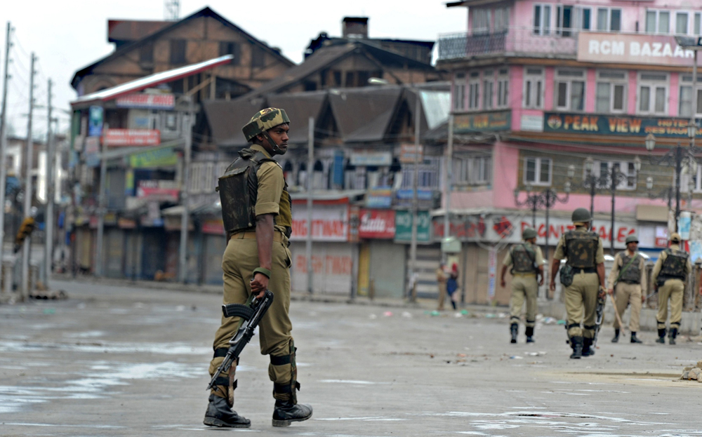 UN rights chief calls for probe into Kashmir abuses. PHOTO: AFP