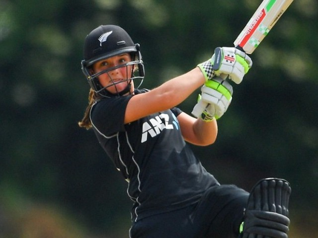 At 17 years and 243 days Amelia Kerr is the youngest double-centurion in international men's or women's cricket