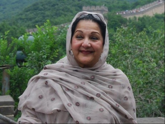 Kulsoom Nawaz, 68, dies in London