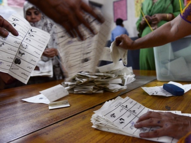 Imran Khan's party had alleged Nadra of helping Sharif's party to 'influence' polls. PHOTO: AFP/FILE