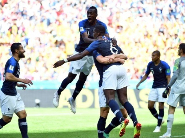France defeats Peru, qualifies for knockout World Cup stage
