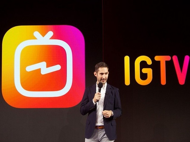 Instragram takes on Youtube PHOTO: INSTAGRAM