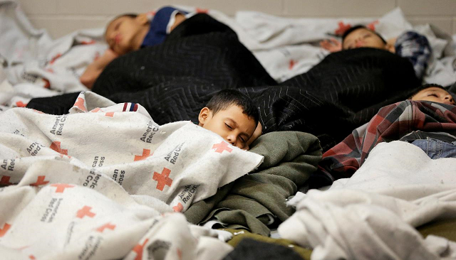 Migrant children forcibly drugged at US government detention centers